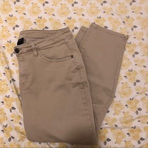 Lane Bryant High Waisted Khaki Pants